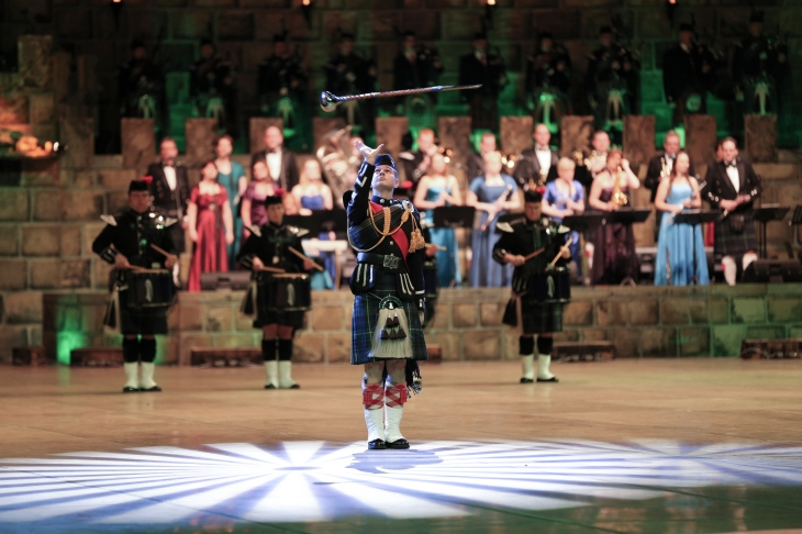 music-show-scotland-drum-major